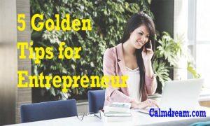 tips for new entrepreneur
