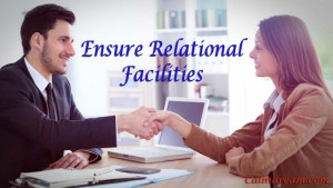 Personal relation helps business