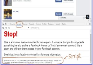 Accept All Friend Request on facebook by a single click